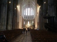 The nave, looking towards the choir stalls.