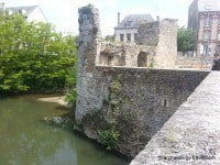 Medieval fortifications on Porte Guillaume.