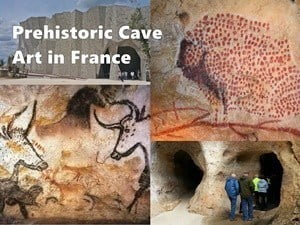 A guide to prehistoric cave art sites in France.