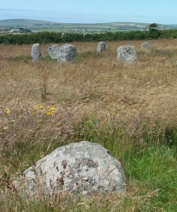 Neolithic stone circles in Cornwall are associated with fascinating local folklore.