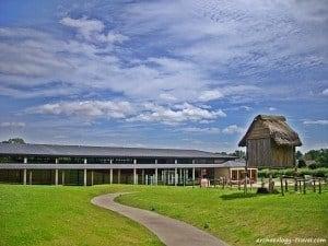 Archaeological Museum of Vieux-la-Romaine, Normandy.