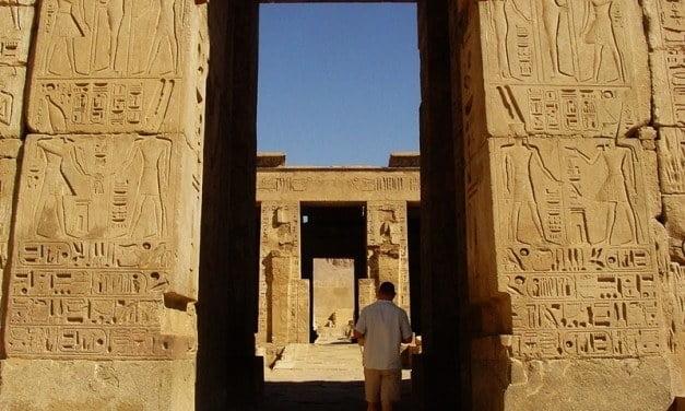 Views from Ancient Doorways