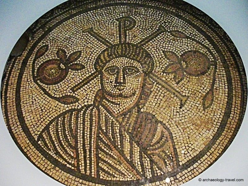 Hinton st mary mosaic archaeology travel
