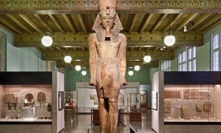 The Colossal Statue of Tutankhamun?
