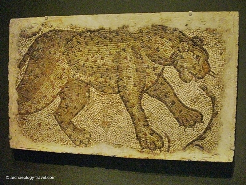 Image of: Mosaic Tile Archaeology Travel Byzantine Mosaics In The Art Institute Of Chicago Archaeology Travel