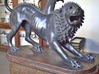 The Chimera di Arezzo in the National Archaeological Museum, Florence.