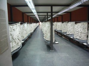 Casts of the 155 scenes in the Museo della Civiltà Romana.