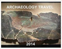 Archaeology photograph calendar for 2014