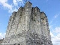 The castle keep at Château Gaillard.