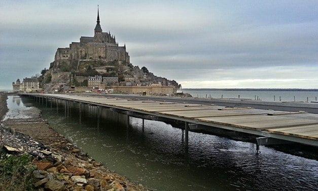 Further Progress at Mont Saint-Michel