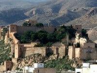 The spectacular Alcazaba of Almería, Spain.