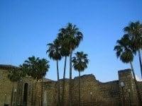 Walls of the Alcazaba of Mérida, Spain.