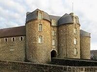 The entrance to Boulogne Castle.