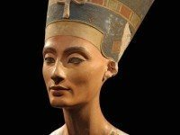 The face of Nefertiti.