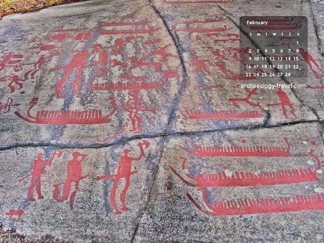 Tanum rock art in Sweden.