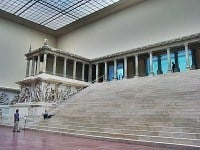 The reconstructed Pergamon Alta.