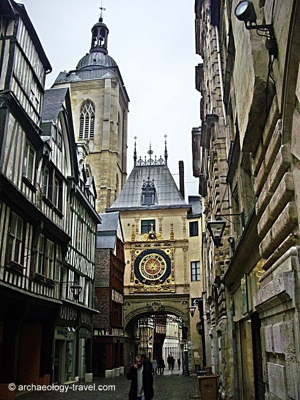 The clock and belfry.