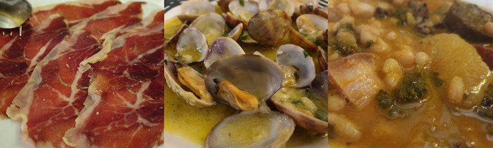 Tapas at the Restaurante Gran Duque in Santillana del Mar, Spain.