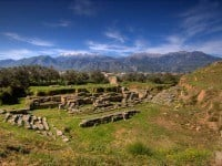 The theatre in ancient Sparta.
