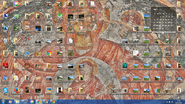 Laptop and desktop wallpaper for April 2014.