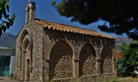 Byzantine Church Frescoes on the Island of Crete