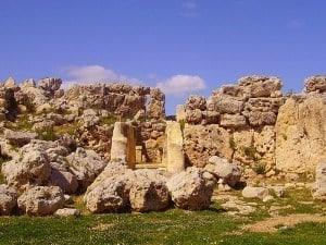 Gganjita Temple, on the island of Gozo.