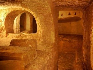 St. Paul's Catacombs in Rabat, Malta.
