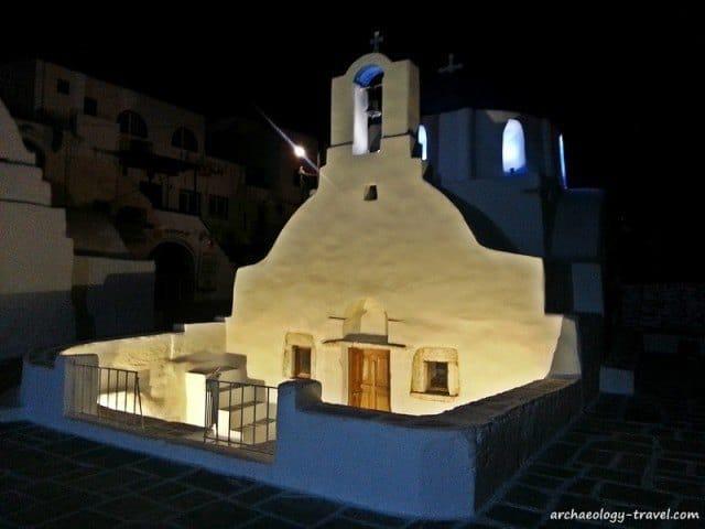St. Ekaterini church in Ios.