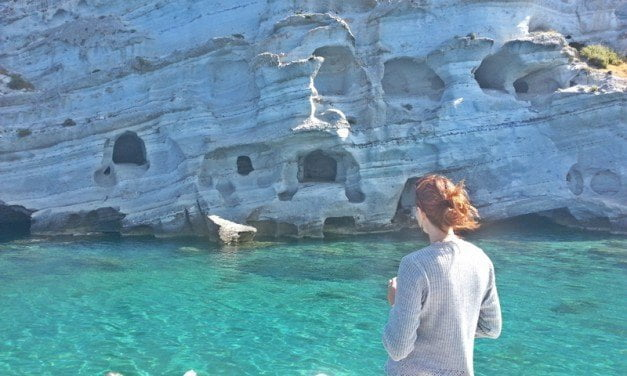 Ancient and Volcanic Landscapes of Milos