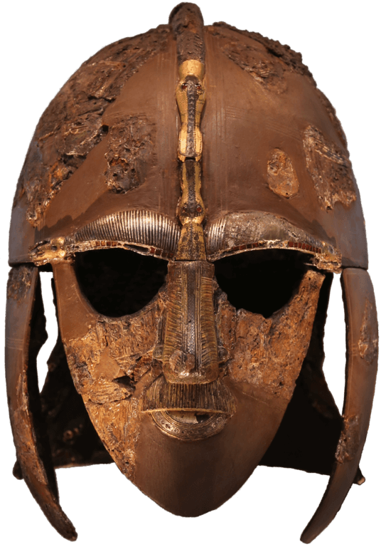 The Sutton Hoo Helmet, now in the British Museum.