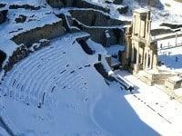 The Roman theatre in Volterra, Italy.