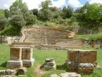 The odeon at the ancient Greek city of Apollonia in Albania © Joonas Lyytinen - Wikipedia