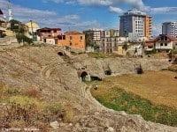 The Roman amphitheatre in Durrës, Albania © Igor Trklja - Wikipedia
