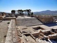 The archaeological site of Phaistos, Crete © Olaf Tausch - Wikimedia