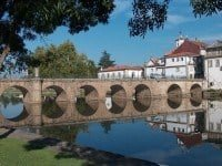 The ancient bridge in the town of Chaves is named after the Roman Emperor Trajan and is known locally as Ponte de Trajano.