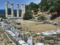 The Hieron at the santuary complex on Samothrace © Ggia - Wikipedia