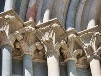 The Romanesque Basilica di Sant'Andrea in Vercelli, Italy.