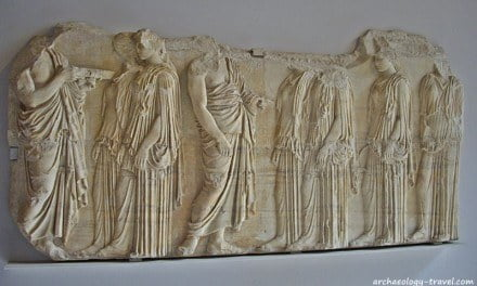 The Parthenon Marbles in the Louvre