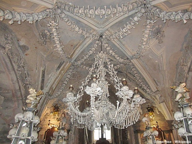 The Baroque interior of the chapel © Interfase - Wikipedia