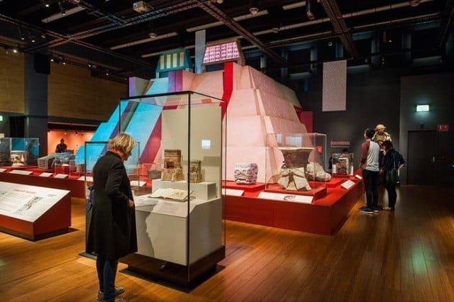 The Aztec exhibition in Sydney. © James King, Australian Museum