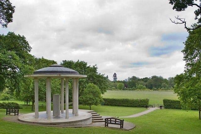 Magna Carta Memorial in Runnymede. © Wyrdlight
