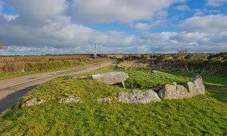 Tregiffian Burial Chamber, Cornwall.