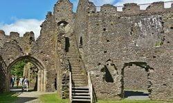 Restormel Castle managed by English Heritage, Cornwall