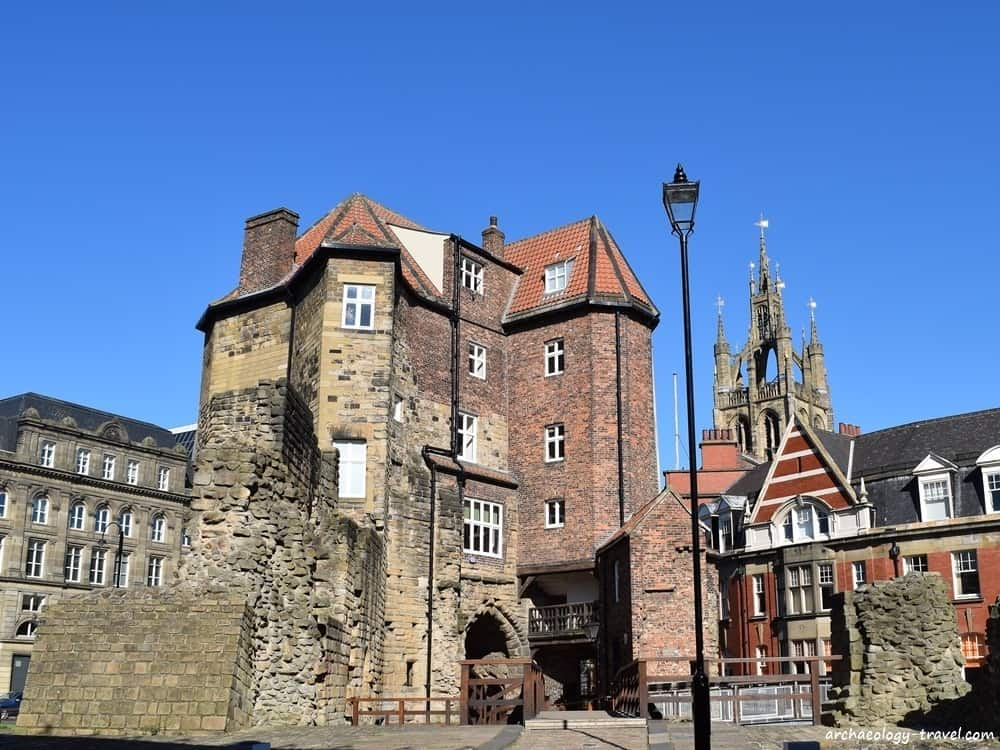 The Black Gate, once the Barbican of the New Castle after which Newcastle takes its name.