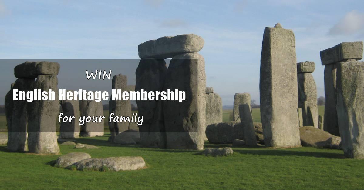 Win English Heritage Membership for a Year!