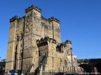 The new castle after which Newcastle takes its name.
