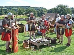Ermine Street Guard camp at Chesters Roman Fort.
