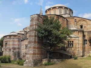 THe Byzantine Chora Church in Istanbul has exquisite frescoes and mosaics.