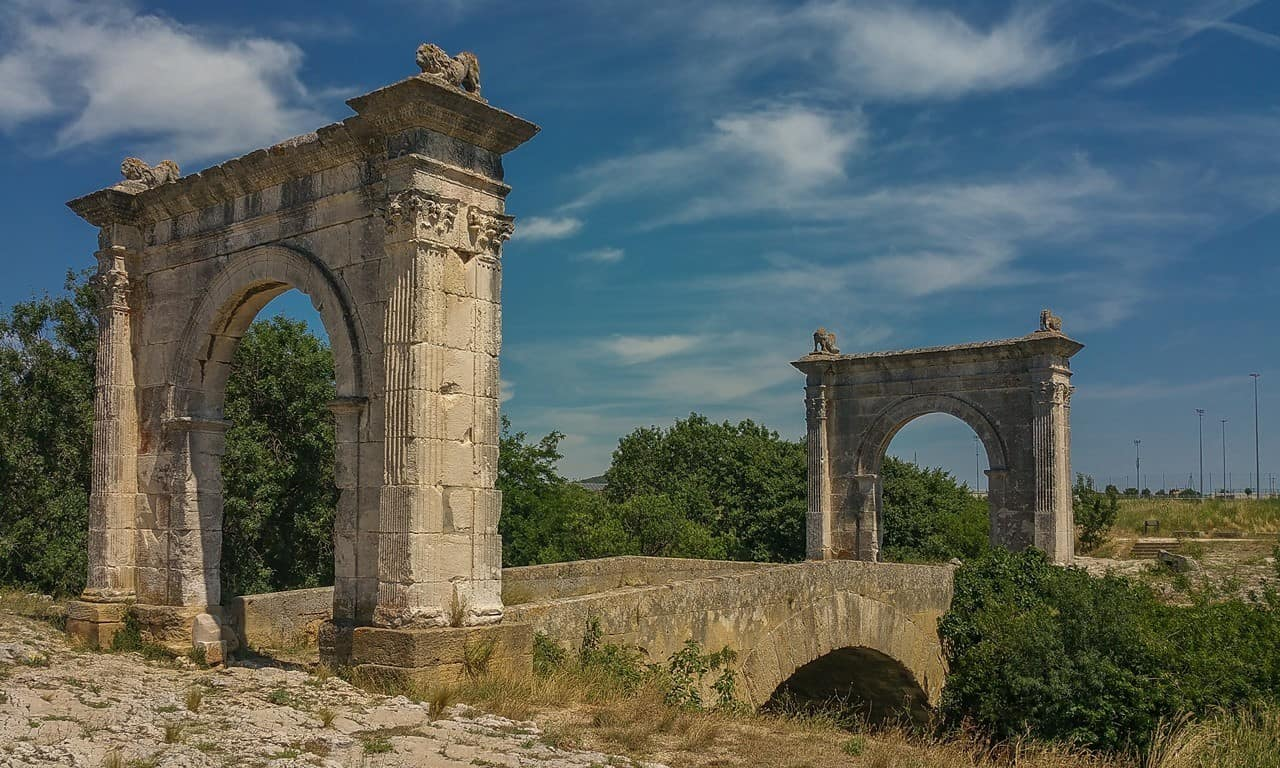 Is Le Pont Flavien the Most Beautiful Roman Bridge Outside of Italy?