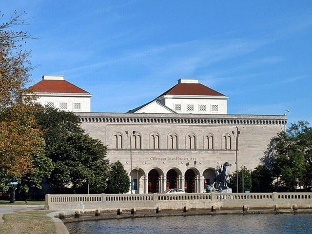 The Chrysler Museum of Art is a museum in the Ghent District of Norfolk.